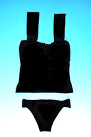 Vesper in Oamaru Black Tankini Set