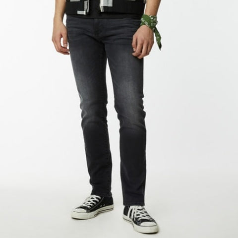 Gas Jeans ALBERT SIMPLE WT20 Jeans slim da uomo nero