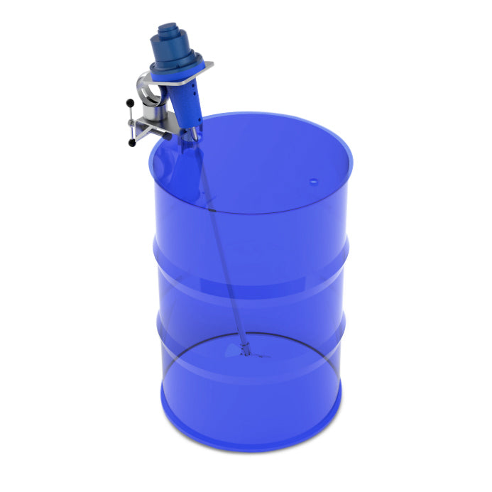 44 Gallon Drum Clamp Mixers