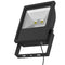 FL011, FL012: LED Flood Light, 100W, AC240V, 65 IP Rating, 2700K or 6000k. 8500 or 9000Lumen flux, 120 beam angle, Azoogi. Black