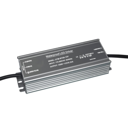 ADR008-100W Waterproof 24V Driver. Non-dimmable. IP67. Azoogi.