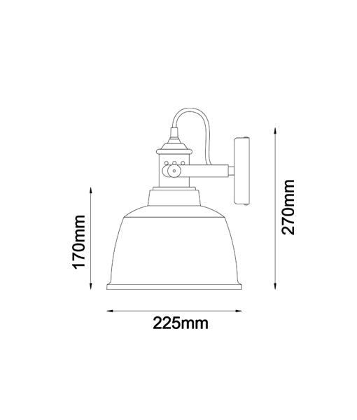 ALTA1W , ALTA2W, ALTA3W: Interior surface mounted wall lamps.