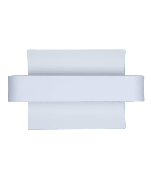 DUBAIG2: Interior surface mounted wall light. MATT White CURVED 6W 120D 3000K (350 Lumens). CLA Lighting