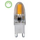G9_03, G9_04: LED Lamp, G9, 4W, AC240V, 2700K or 6000K, Lumens 250 or 300. 360 beam angle, dimmable. Azoogi