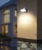 GLANS: Exterior LED Surface Mounted Wall Lights