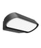 GLANS01: Exterior LED surface mounted wall lights. Dark Grey 230V 3000K 7W IP65 112D GLANS03: 13W