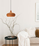 LIGNA: Cherry Cinnamon / Cherry Golden Oak / Black Walnut Pendant Lights