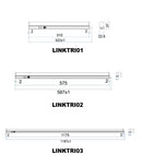 LINKTRI: Interior LED Tri-CCT Linkable T5 Slimline Utility Lights