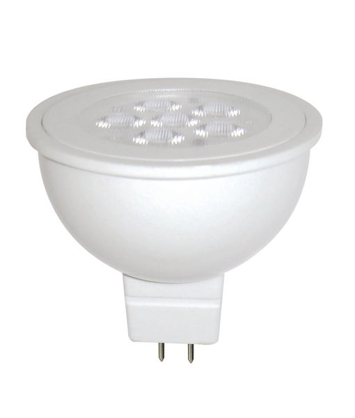 MR1601A GLOBE LED 12V AC/DC (White) MR16 6W 3000K 38D , MR1602A 5000K