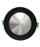 NOVACOB01: LED Dimmable Tri-CCT with Magnetic Changeable Faceplate Recessed Downlights