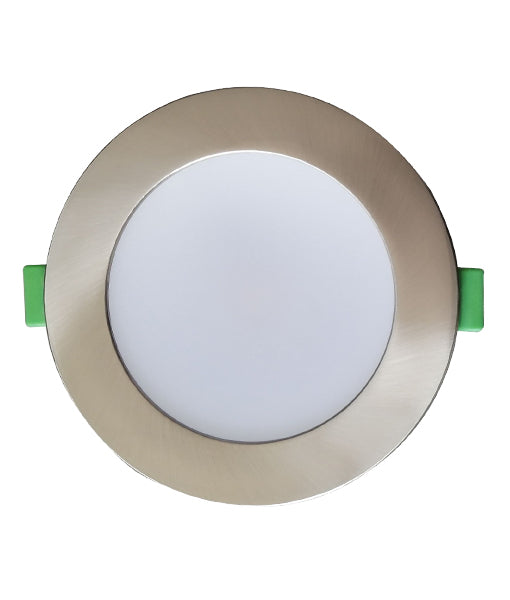 NOVADLUX01: LED Dimmable Tri-CCT with Magnetic Changeable Faceplate Recessed Downlights