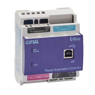 5500PACA: Clipsal C-Bus Pascal Automation Controller. Logic Controllers