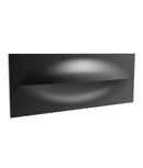 OGA01: Exterior LED Recessed Wall Lights. Dark Grey. 3000K 13W IP65 120D (380 Lumens) W250mm x H98mm x D105mm