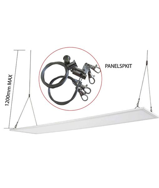 LED Panel Suspension Kit & Panel Frames