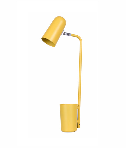 PASTEL21TL: Interior table lamps, reading lamp. SES Matte YELLOW W160mm x H490mm. CLA Lighting.