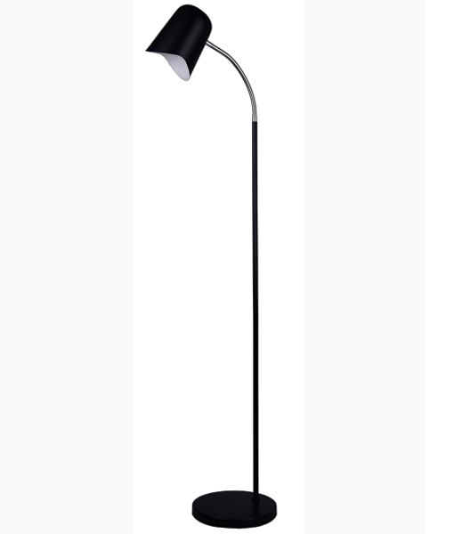 PASTEL23FL: Interior floor lamps. ES Matte Black OD250mm X H1545mm. CLA Lighting