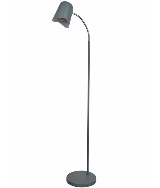 PASTEL26FL: Interior floor lamps. ES Matte GREEN OD250mm X H1545mm. CLA Lighting