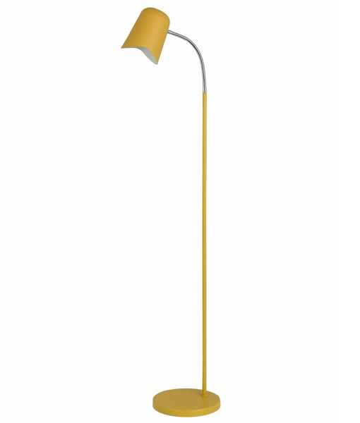 PASTEL28FL: Interior floor lamps. ES Matte YELLOW OD250mm X H1545mm. CLA Lighting