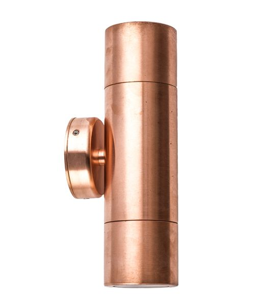 MR16 Exterior Wall Pillar Lights (Copper)