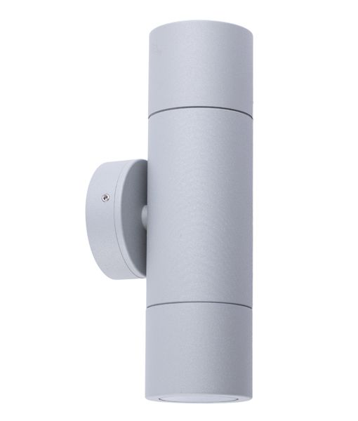 GU10 Exterior Wall Pillar Lights (matt grey)