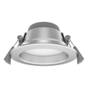 S9071TC Dimmable IP64 10W LED downlight. Tri-colour. white or silver powder coat finish