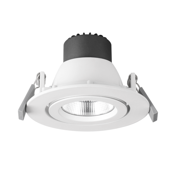 ECOSTAR II GIMBAL S9146- Warm White, Cool White and Day Light colour. Durable die-cast aluminium body profile. white powder coat finish. 9 Watt