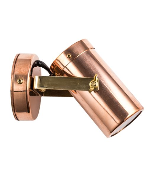 GU10/MR16 Exterior Copper Wall Spot Lights