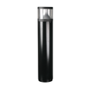 LED BOLLARD SLA7102: SLA7102BK, SLA7102SL. Durable powder coated black or silver finish. 18W 1000mm 6000K