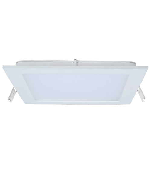 LED Slim Dimmable Recessed Downlights (Square). 9, 12, 18 watt. Flex & plug: 1.2m