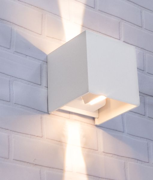 TOCA: Exterior LED Adjustable Beam Angle Surface Mounted Wall Lights