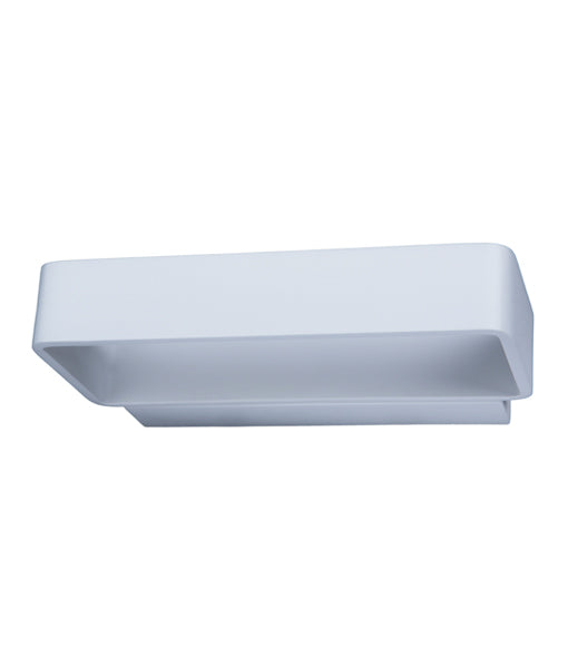 VENICEG2: Interior LED surface mounted wall light. MATT White Rectangle UP/Down 6W 120D 3000K (615 Lumens). CLA Lighting