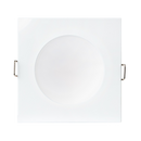 S9041 TC- Easy selectable colour temperature with an inbuilt DIP switch. Durable die-cast aluminium square body profile. 10 Watts.  Trim colour choice of white or satin nickel. Dimmable LED driver, with flex and plug