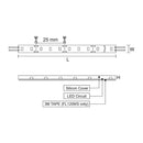 12V LV SINGLE COLOUR LED STRIP IP67 - 9W/M FL1209CW/5M/SR
