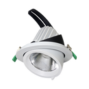 NEWMAN III S9525- Rotable scoop LED Shoplight. beam angle 40 degree standard, optional 24 degree. 15, 25, 35 watt