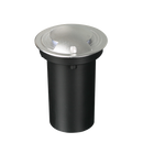S9348WW: LED exterior garden inground IP67 luminaire, IK10. Warm white.  4w. 116(W) x 150(H). S9348CW: Cool White