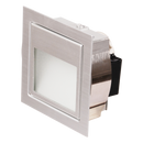 S9318 AS: Aluminium LED Wall Light ANODIZED Silver 12V. 3000k, Warm White. SAL Lighting.