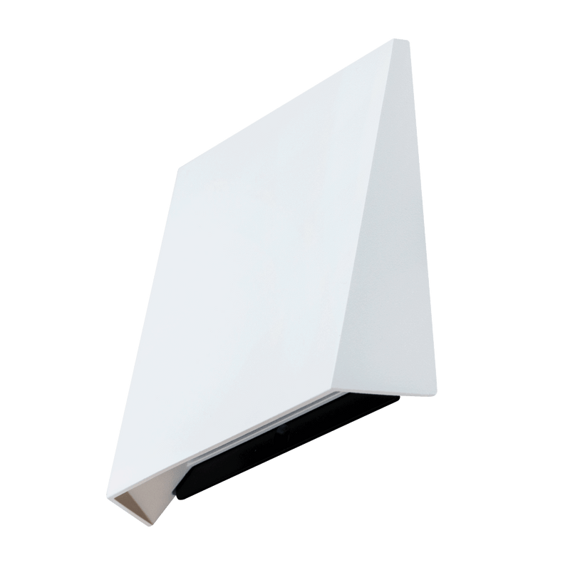 S9314: Stylish interior wall mount LED luminaire. 1.2W RECESSED SQUARE WALL 3000K, Warm White. SAL Lighting. Square face