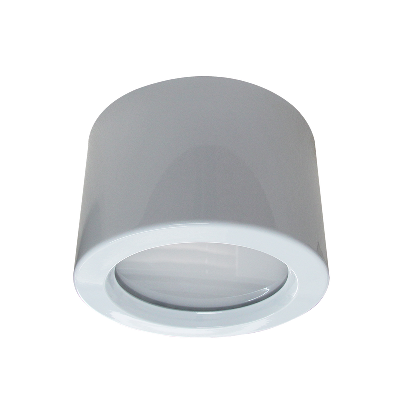 EXMOUTH S9523SM- Surface mount 28/40 watt LED downlight. selectable colour and power inbuilt DIP switch