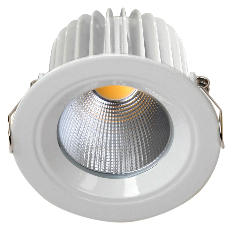 ECOSTAR S9045 - Dimmable 9 watt LED recessed downlight. Changeable multi-reflector system. Warm White and Day Light