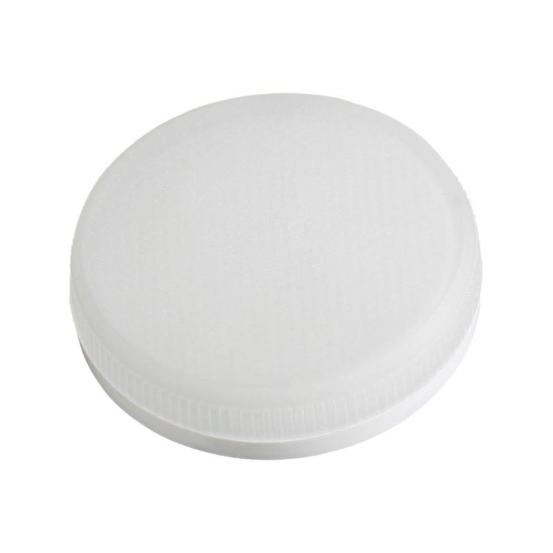 LED GX53 base LED. Frosted glass diffuser. High efficiency SMD LED