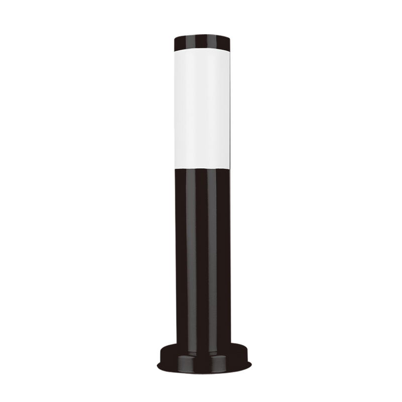 SE7007 BK: Murray external bollard post. E27. Black finish. 116(W) x 450(H)