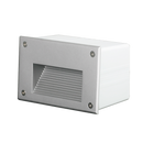 SE7141WW/BK, SE7141WW/SL: Exterior LED BRICKLIGHT SLOT IP65 3000K, Warm White. Black or Silver finish. 3 watt. SAL lighting