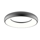 SO3000/30CW, SO3000/40CW: Dimmable architectural LED ceiling Light. 18W 300mm 4K Black. SAL Lighting. 300(W) or 400 (W)mm