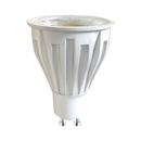 GU10 LED GU10LR750. High Efficiency 9 watt GU10 LED lamps. CRI > 80, CCT 3000, 4000, 6000K, beam distribution 60 degree