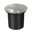 S9349WW: LED exterior garden inground IP67 luminaire, IK10. 4W. 3000K. 316L stainless steel cover. 173(W) x 150(H) S9349CW: 4000K