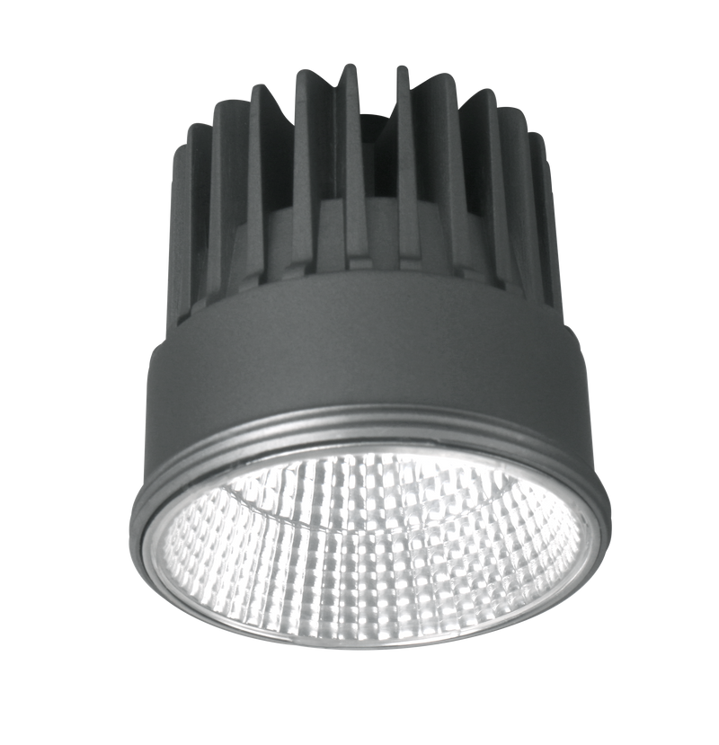 UNIFIT S9053HC. Round 8  watt dimmable LED Module, CRI 90. Die-cast aluminium heat sink. Warm White 3000k