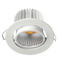 ECOSTAR S9046- Dimmable 9 watt gimbal LED downlight. 30 degree tilt. Changeable multi-reflector system
