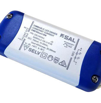 DIM700mA/18W- constant current LED driver 15 - 29 Voltage (V) DC