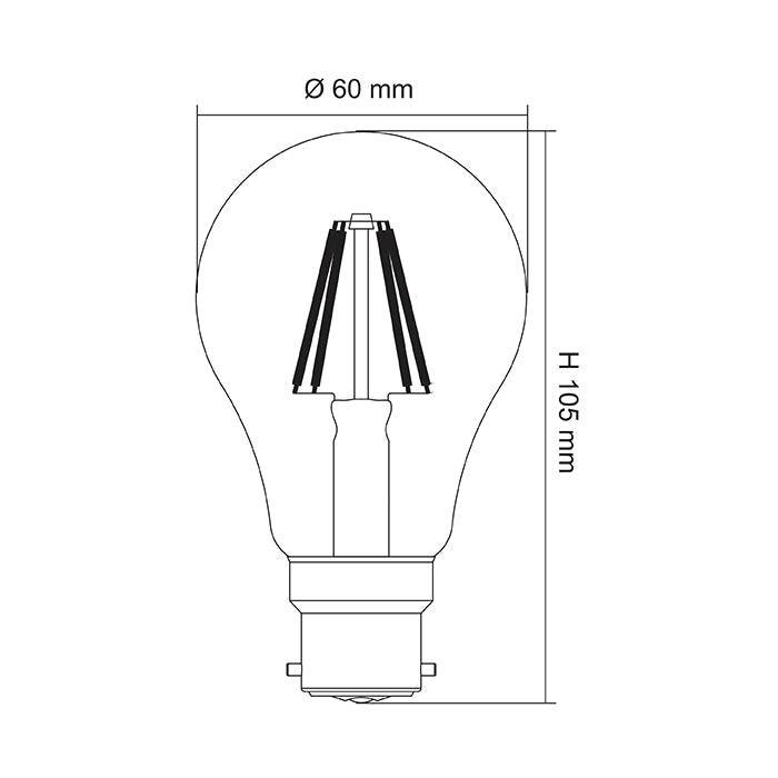 Clear Dimmable LG5