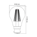 DIMMABLE CLEAR  LG9